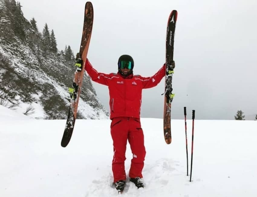 Bastian Lange iført skilærer outfit