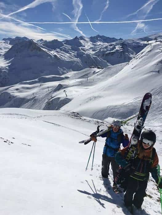 Martha på skitouring
