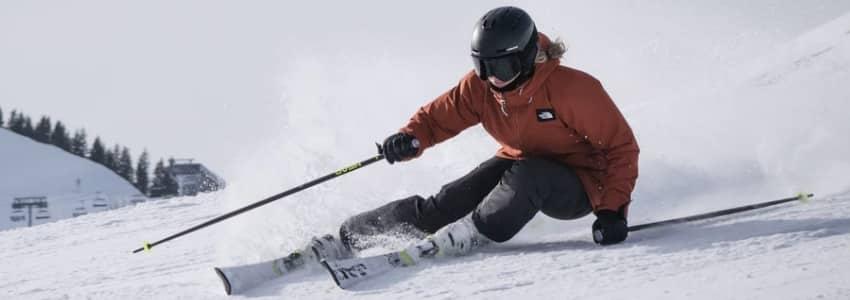 Sorte skibukser