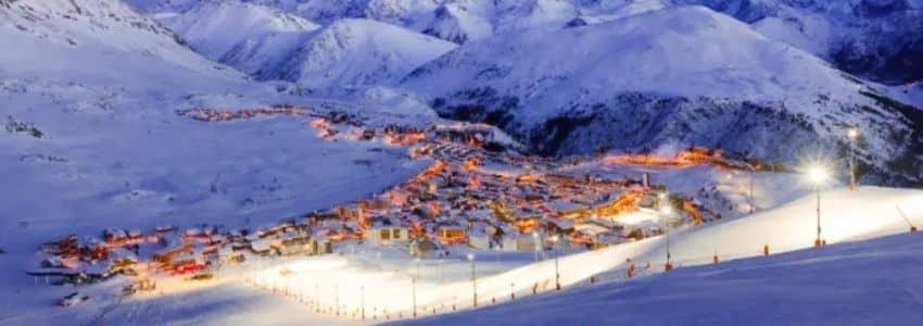 Nat ski Skiferie Alpe D'Huez