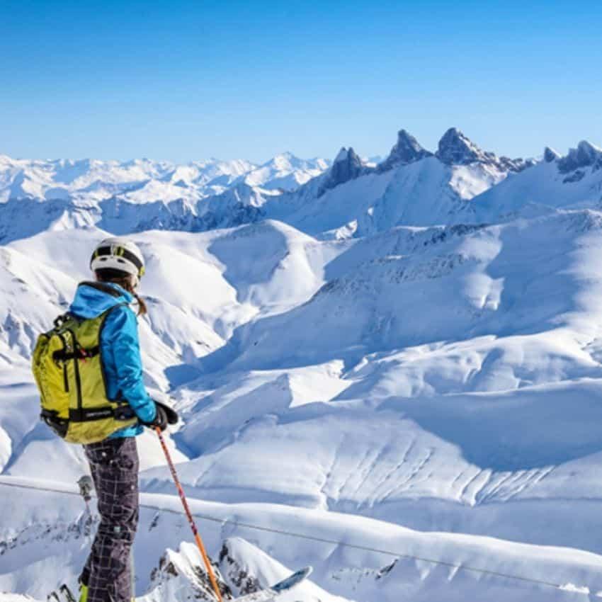 Piste overblik skiferie Alpe D'Huez