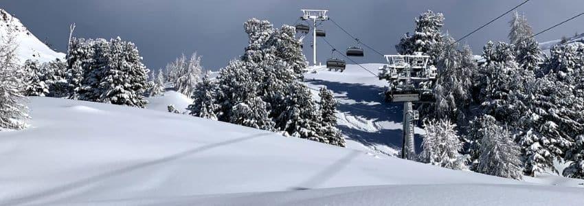 Nyfaldet sne skiferie Ischgl
