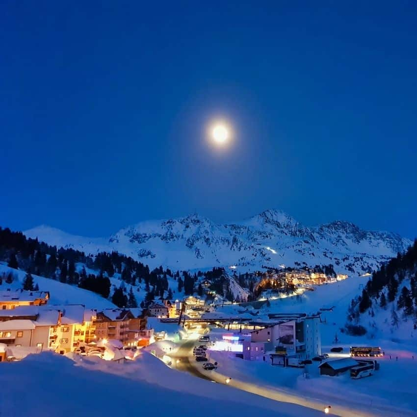 Nat skiferie Obertauern
