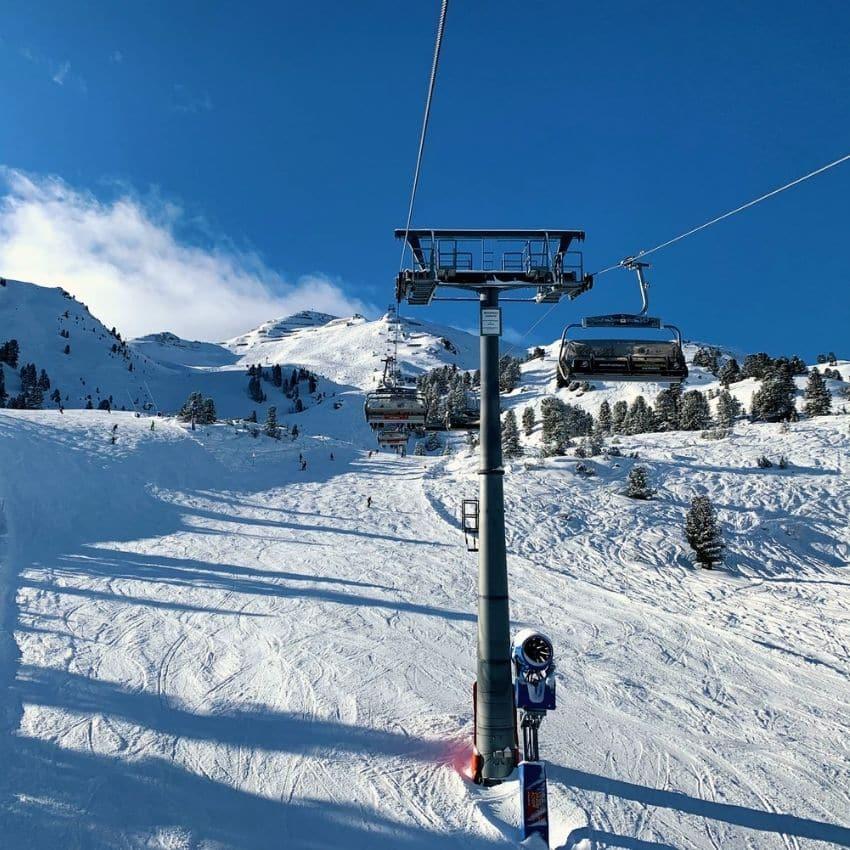 Skiferie Zillertal skilift og pist