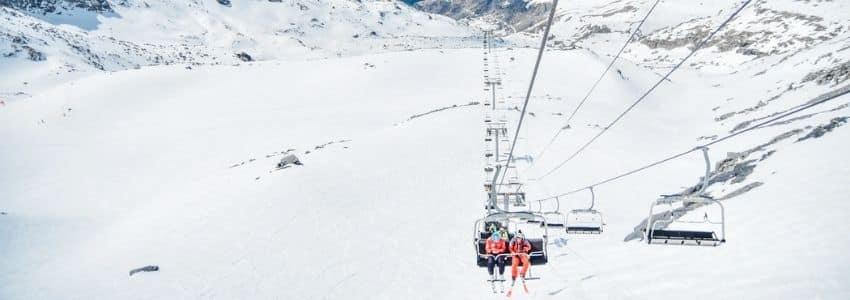 Skilift i skiferie Val Thorens